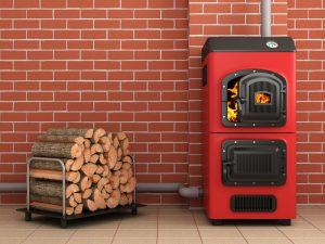 chaudière à bois